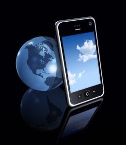 ziemia telefon komórkowy