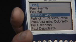 znalezione Blackberry
