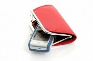 portfel w telefonie