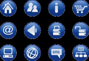 ikony aplikacji mobilnych
